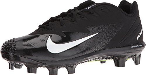 NIKE Men's Vapor Ultrafly Pro MCS Baseball Cleat Black/White/Anthracite Size 8 M US