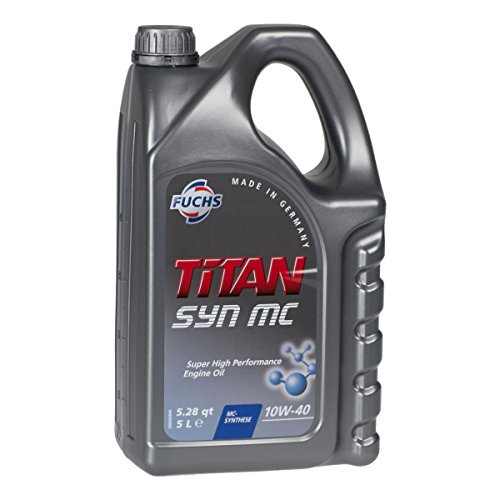 10W-40 Fuchs TITAN Syn MC Motoröl 5 Liter