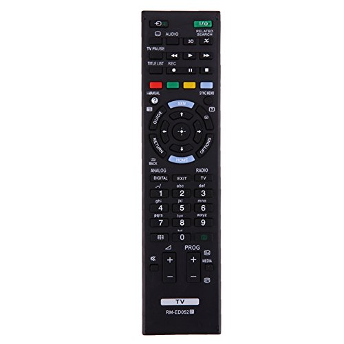 Asproper - Mando a distancia de repuesto para Sony TV RM-ED050 RM-ED052 RM-ED053 RM-ED060
