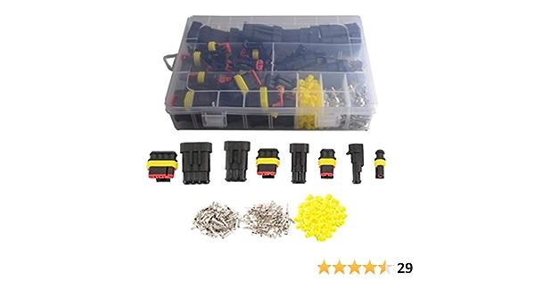 352 Wasserdichte Elektrische Kabelverbinder Stecker 1 Elektronik
