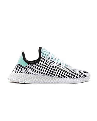 adidas Originals Herren Sneakers Deerupt Runner Weiss (10) 44 (Herz Adidas)