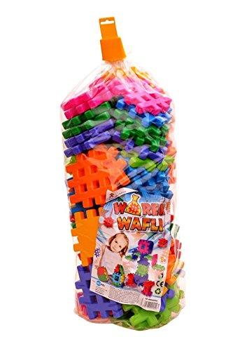 Bau Ziegel Bausteine 90 Stück Kinder Kreativität Waffeln