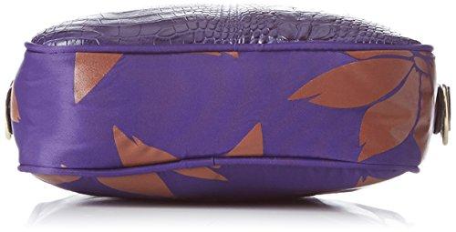 Bensimon - Xs Bag, Borsa a tracolla Donna Bleu (Imprime)