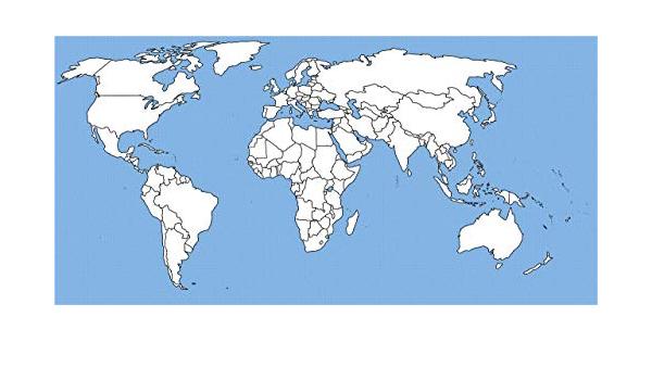 Cartina Mondo Png.Home Comforts Mappa Del Mondo Vuota Paesi Continenti Oceano 5 Canvas 10 X 14 Multicolore Amazon It Casa E Cucina