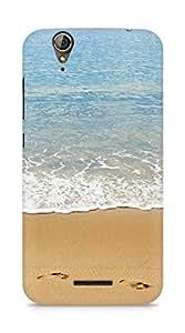 Amez designer printed 3d premium high quality back case cover for Acer Z630S (Beach Landscape)