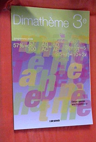 Dimatheme 3e ed 2008 Special Enseignants