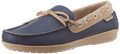 Crocs , Mocassins pour femme Navy/Tumbleweed