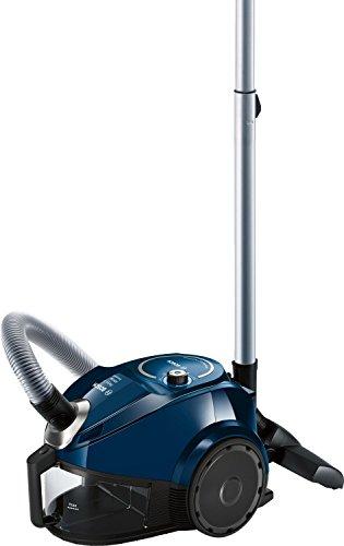 Bosch BGC3U130 - Aspiradora (600 W, A, 28 kWh, 10 A, Aspiradora cilíndrica, Sin bolsa), color azul