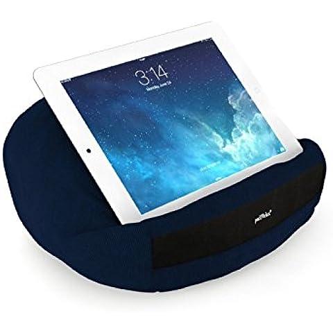 padRelax-Soporte para Tablet Apple iPad & almohada para cama y sofá tavolo... para todos los dispositivos de hasta 10
