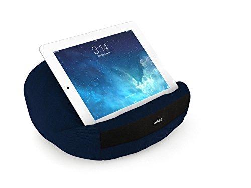 padRelax casual Marineblau Tablet Halter bis 10.5 Zoll, made in Germany, für Bett, Sofa, Tisch und jedes Apple iPad, Samsung Galaxy Tab, eReader, Buch,..
