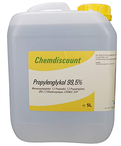 5Liter Propylenglykol 99,5% in Pharmaqualität USP, versandkostenfrei, PG