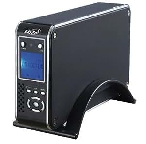 "Elypse Boîtier externe multimédia 3,5"" S-Vidéo+RCA / VGA / E-SATA / HDMI / USB / Lecteur de cartes"