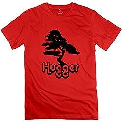 Árbol Hugger o cuello hombre t shirt amarillo última por rahk