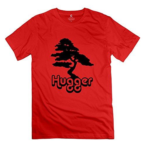 Tree Hugger O Neck Herren T Shirt Gelb neuesten von rahk Medium rot (T-shirt Gelben Tree Hugger)
