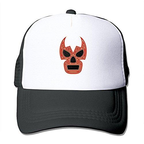 XCarmen Black Lucha Underground - Pro Wrestling Fitted Hats Black Snapback Black