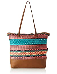 Kanvas Katha Stylish Digital Printed Tote Bag Collection For Women Women's (Multicolor) ()