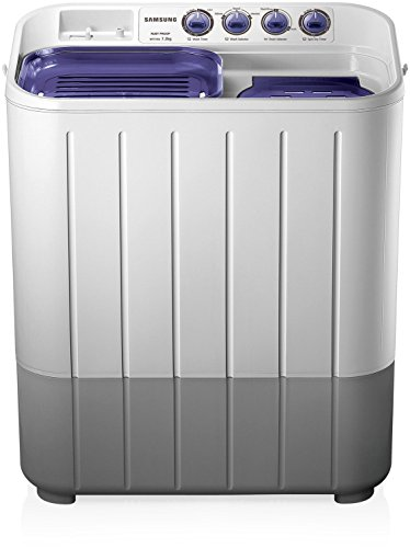 Samsung 7.2 kg Semi-Automatic Top Loading Washing Machine (WT725QPNDMP, White and Blue)