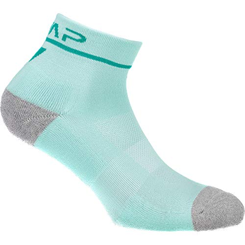 CMP Damen Running Baumwolle Socken, Aquamint-Mint, 39/42