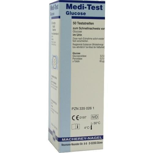 MEDI-TEST Glucose Teststreifen 50 St Teststreifen