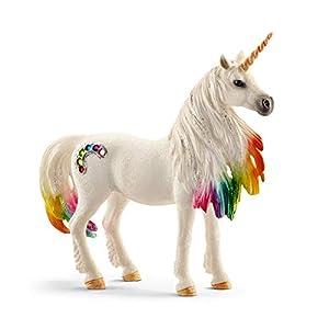 Schleich- Figura de Unicornio arcoíris, Yegua, 18cm