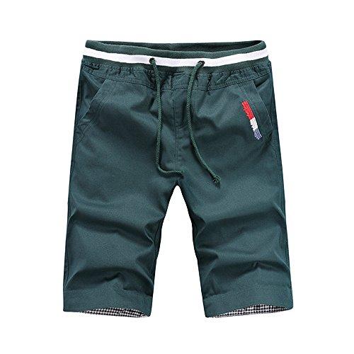 Goldatila Männer Shorts Herren Sweatpants Strandhose Kausal Hose Sweat Jersey Hose Bottoms
