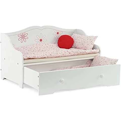 Daybed and Trundle Fits American Girl Dolls