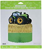 Creative Convertting- Centrotavola Nido d'Ape 30 x 23 cm Trattore-Tractor Time, Multicolore, 8C318064