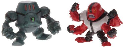 Ben-10 - 97397 - Pack de 2 Mini-Figurine - Set 2 - Fourarms & NRG