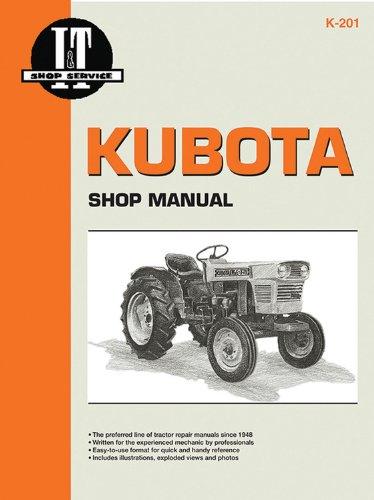 KUBOTA SHOP MANUAL (I & T Shop Service Manuals) - Kubota