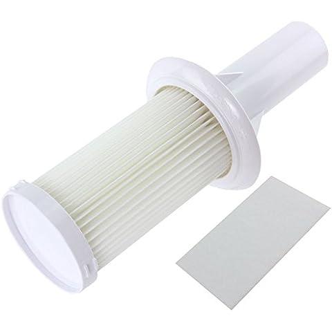 SPARES2GO-Micro filtro di scarico Hepa U45 per aspirapolvere HU4216 Candy