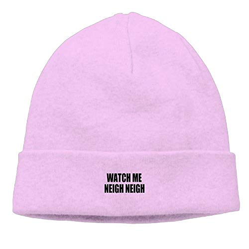 4f7e5ef55f536e Watch Me Neigh Neigh New Winter Hats Knitted Twist Cap Thick Beanie Hat Pink