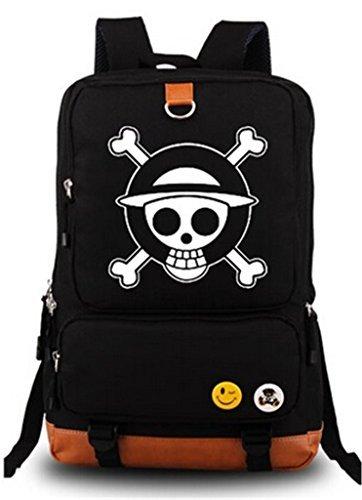 yoyoshome Anime One Piece Cosplay luminoso hombro bolsa mochila mochil