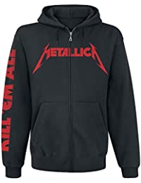 Metallica Kill Em All Sweat à capuche zippé noir