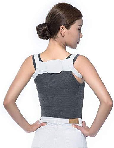 Lage-Korrektor, Ober Rückengurt Orthopädische Leder zurück Lage-Korrektor for Fixing Buckel Haltung, Rückenstütze for Sofort & Long Term Schmerzlinderung, unsichtbar unter der Kleidung for Frauen-Männ