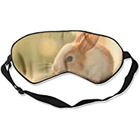 Eye Mask Eyeshade Bunnies Rabbit Sleep Mask Blindfold Eyepatch Adjustable Head Strap preisvergleich bei billige-tabletten.eu