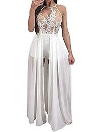 Vestido de Fiesta de Las Mujeres Hueco, Vestido de cóctel Maxi Largo sin
