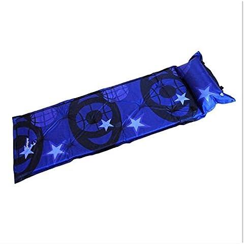 GAOHL Automatico gonfiabile cuscini / all'aperto/single/cuscino/umidità , blue , 183*57*3.0