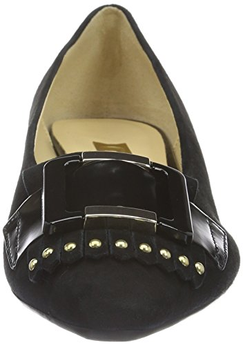 Gabor Shoes Basic, Scarpe con Tacco Donna Nero (Schwarz Gold)