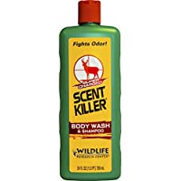 Scent Killer 540-24 Wildlife Research Scent Killer Body Wash and Shampoo