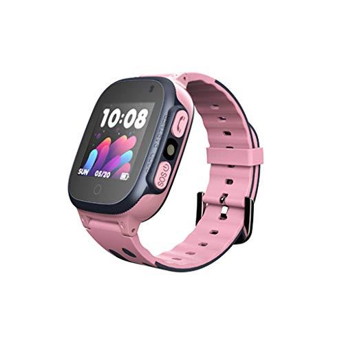 Niños Smart Watch Phone, La Musica Smartwatch para niños de 3-12 años Niñas con cámara Ranura para Tarjeta SIM Juego de Pantalla táctil Smartwatch Childrens Gift  (B)