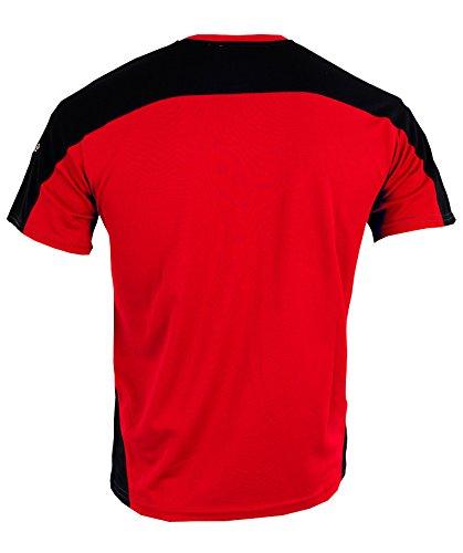 IZAS rot / dunkelgrau / schwarz