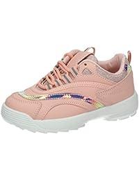4da81ab4e H.F Shoes A2321 Deportivo Espejo NIÑA Deportivos