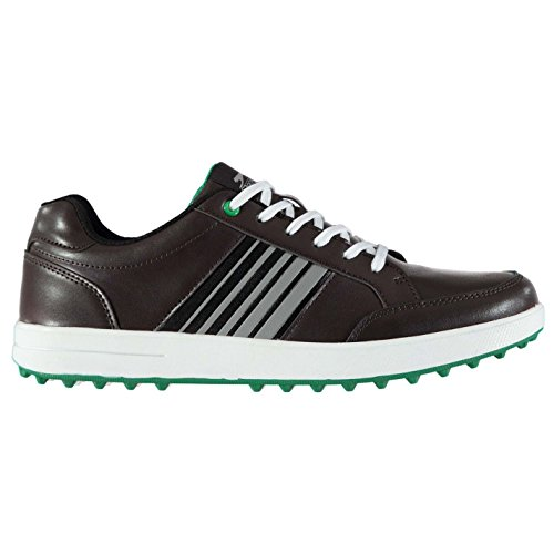 Slazenger Men's Golf Shoes Brown...