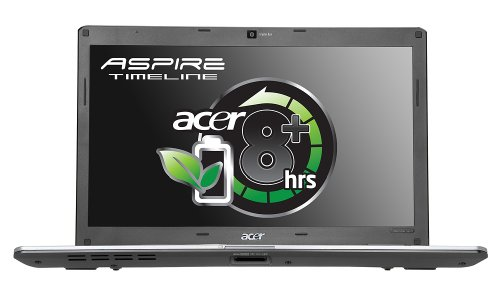 Acer Aspire Timeline 5810T-354G32MN 39,6 cm (15,6 Zoll) WXGA Laptop (Intel Core 2 Solo SU3500 1.4GHz, 4GB RAM, 320GB HDD, Intel GMA 4500MHD, DVD +- DL RW,  Vista Home Premium) 1.4 Ghz Intel Core