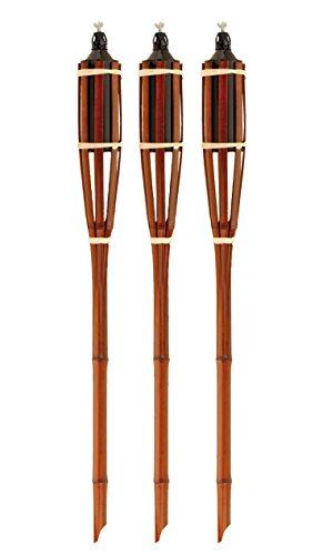 555R814 - Antorcha Bambu Natural Set 3 Unid