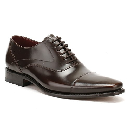 Loake Sharp Sharp, Chaussures à lacets homme Brown Polished