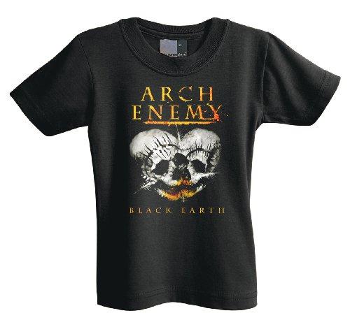 Arch Enemy 701219 T-Shirt per neonato, nero Nero  nero