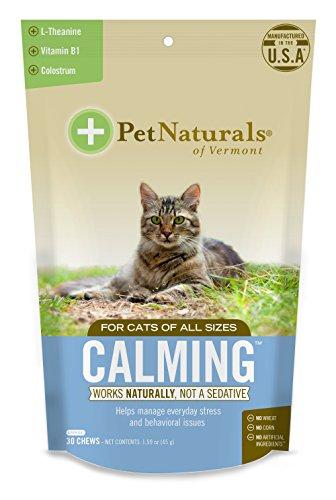 Pet Cuisine Calmante per Gatti, Behavioral Support Supplement, 30Bite Size mastica
