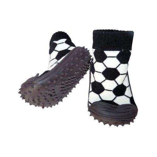 C2BB Socken Baby Junge geschmeidige Multi Hausschuhe Schuhsohle Kind Fu脽ball 11qB5vwr