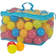 Hours of fun,Bag of 100 Multi-Coloured Play Balls.